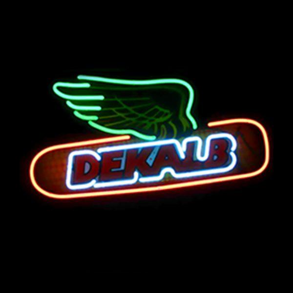 Custom real neon 'glass tube' signs